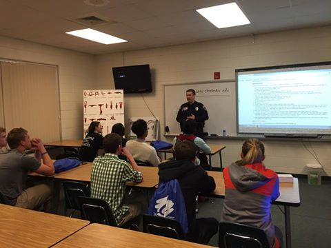 Crime Prevention at Career Day