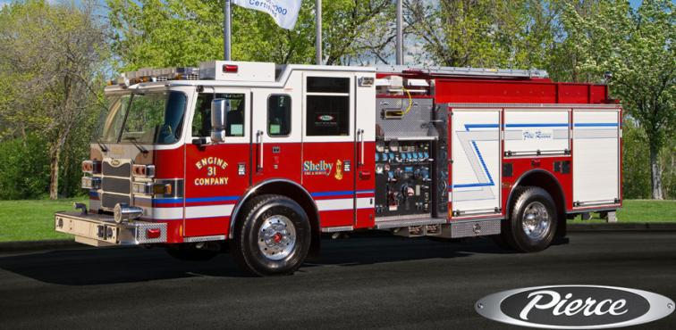 2010 Pierce 1500gpm Pumper