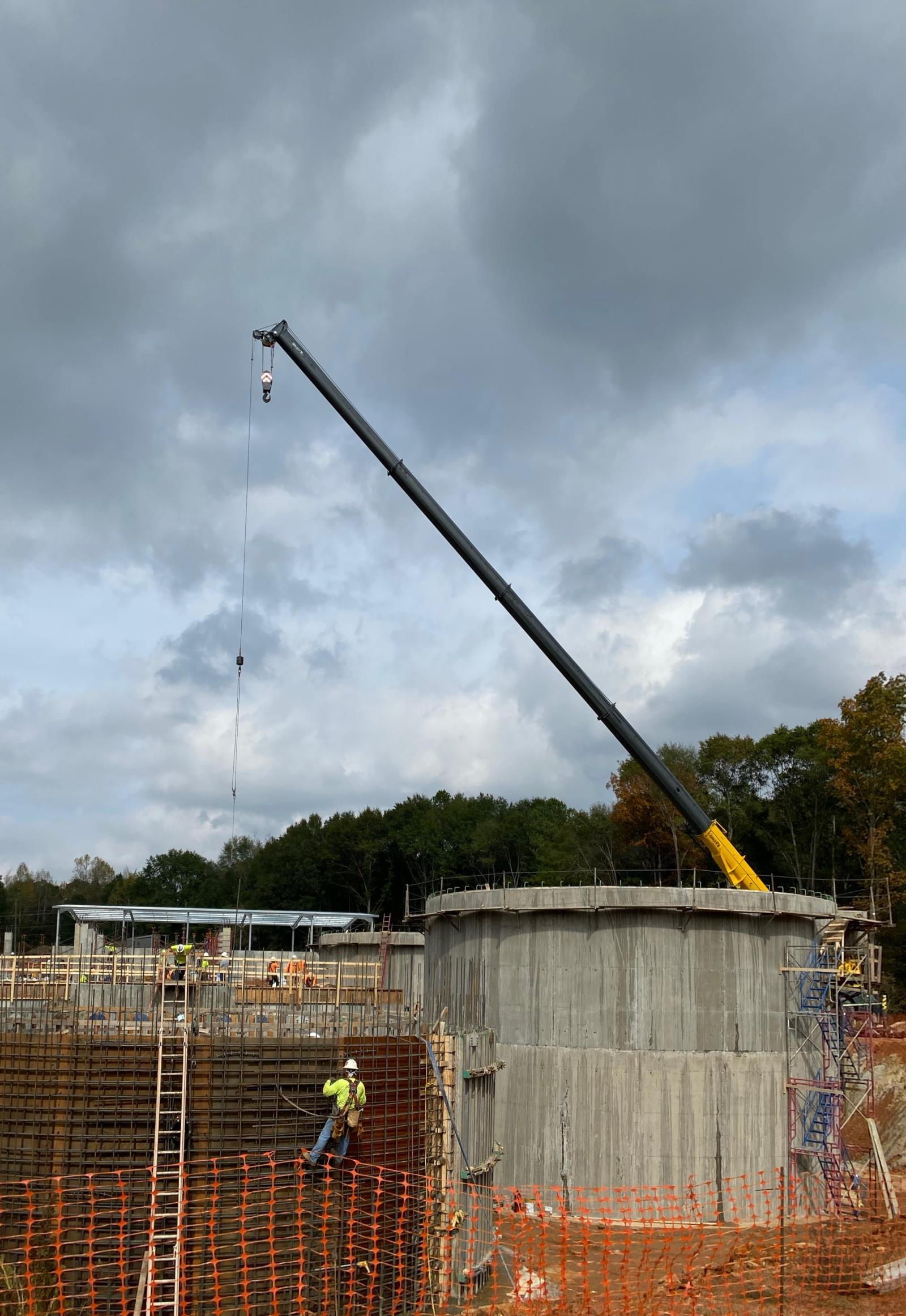 WWTP Construction Digester