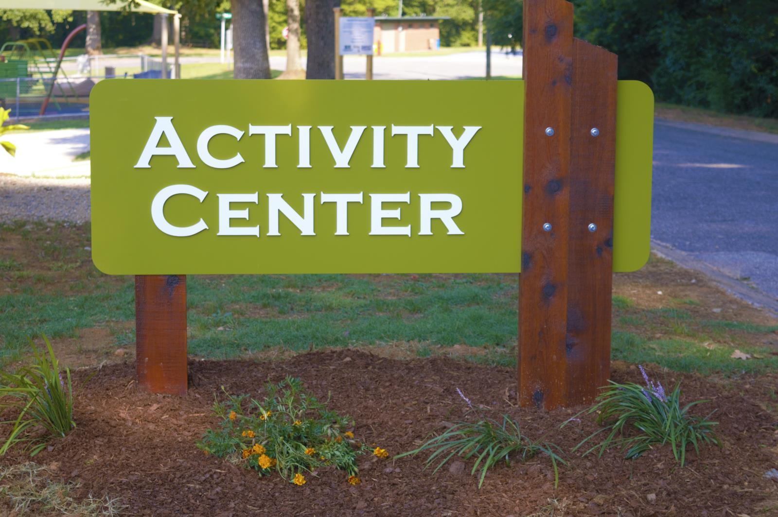activity center sign h